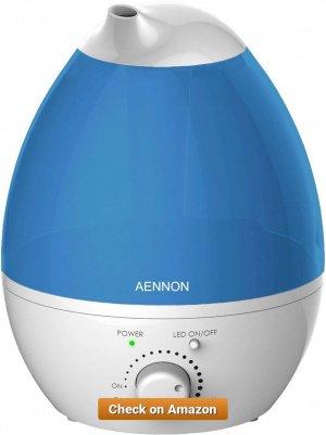 Aennon Ultrasonic Cool Mist Humidifier 2 8L 1 1