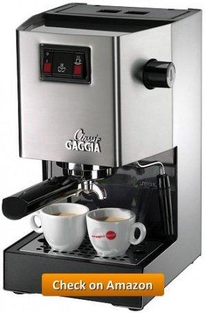 Gaggia Classic Semi Automatic Espresso Maker