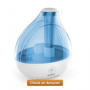 MistAire Ultrasonic Cool Mist Humidifier 1 5 LITER 1 41