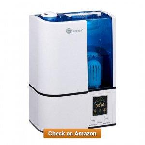 TaoTronics Cool Mist Humidifier 4L 1 35