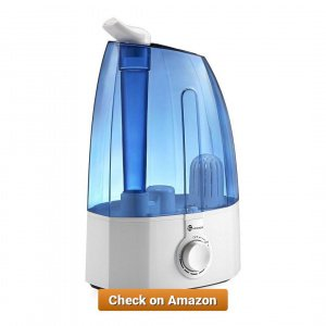 TaoTronics Ultrasonic Cool Mist Humidifier 3 5L 1 27
