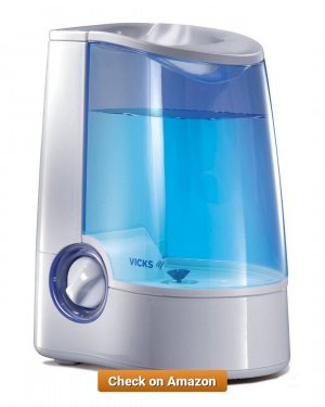 Vicks Warm Mist Humidifier 3 7 L 1 3